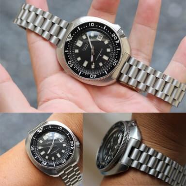 สายนาฬิกาแบบเหล็ก (METAL BRACELET)