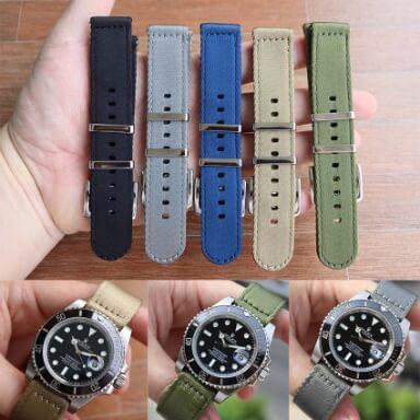 สายนาฬิกาแบบผ้า - สายนาโต้แบบ 2 ชิ้น