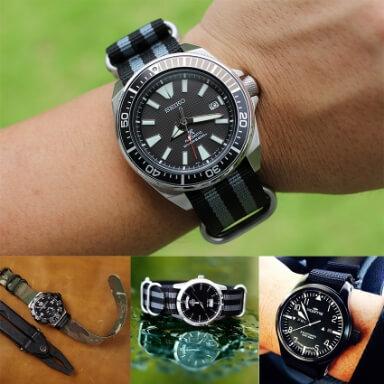 สายนาฬิกาแบบผ้า - สายนาโต้ Zulu Strap