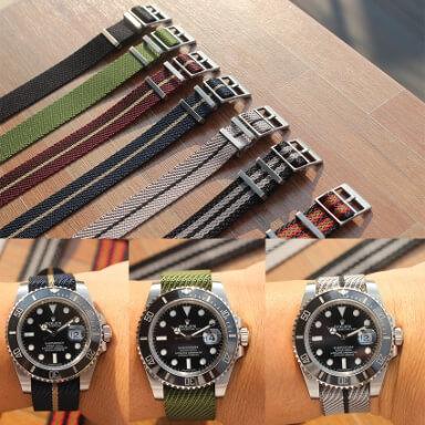 สายนาฬิกาแบบผ้า - สายนาโต้ Single Pass Strap