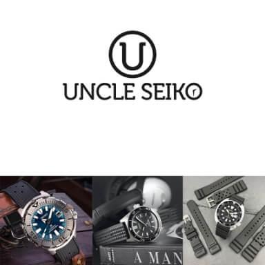 สายนาฬิกาแบบยาง - Uncle Seiko Rubber Strap