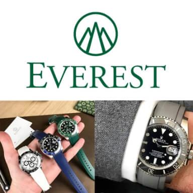 สายนาฬิกาแบบยาง - Everest Bands for Rolex