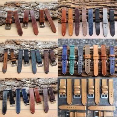 สายนาฬิกาหนังวัว Calf Leather Strap