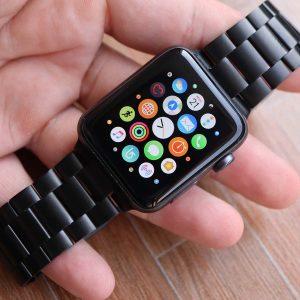 สายนาฬิกา APPLE WATCH - Apple Watch Black PVD Bracelet